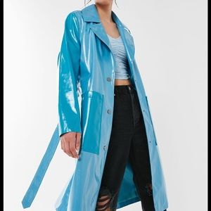 Brand New UO Colorblock Longline Raincoat